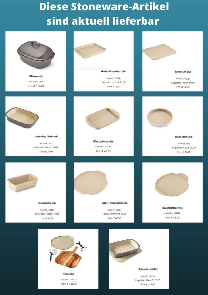 Stoneware Artikel-aktuell lieferbar