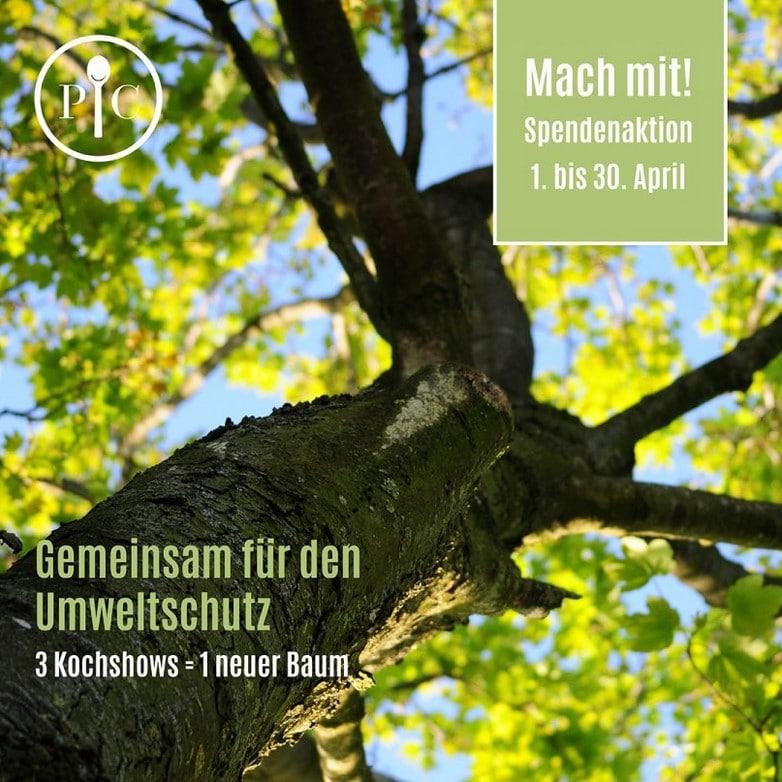 Gemeinsam für den Umweltschutz - PRIMAKLIMA - Baum spenden